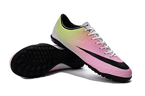Andrew Zapatos para hombre Colorful Mercurial Victory V TF Botas de fútbol