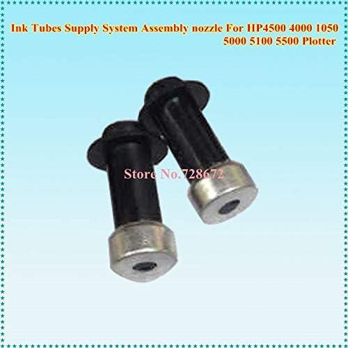 Yoton - Juego de 6 boquillas para sistema de suministro de tubos de tinta para HP Designjet 4500 4000 1050 5000 5100 5500: Amazon.es: Oficina y papelería