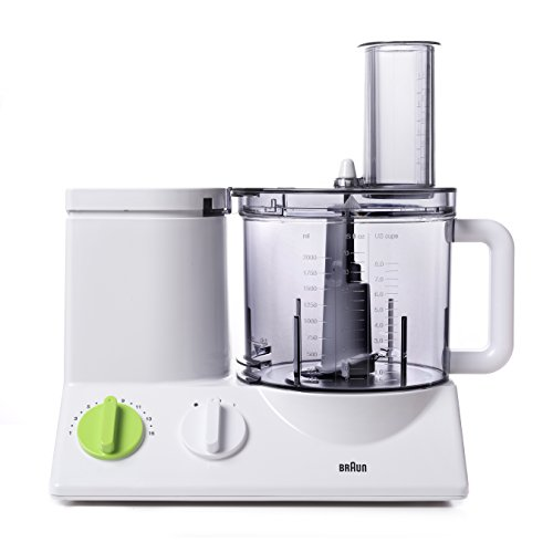 BRAUN FP3020 Food Processor With The Coarse Slicing Insert Blade And French fry System Bundle - 3 items
