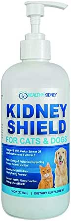 Dog and Cat Kidney Support, Canine Feline Renal Health Support Supplement For Normal Kidney Function, Creatinine, Detox, Urinary Track Cleansing, Best Kidney Stuff, Improve Pets Alive an Kidney Health