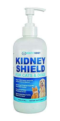 Dog and Cat Kidney Support, Canine Feline Renal Health Support Supplement For Normal Kidney Function, Creatinine, Detox, Urinary Track Cleansing, Best Kidney Pills, Improve Pets Alive an Kidney ()