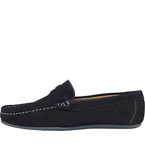 OnFire - Mocasines de Ante para Hombre 40 EU, Color Azul, Talla 42.5: Amazon.es: Zapatos y complementos