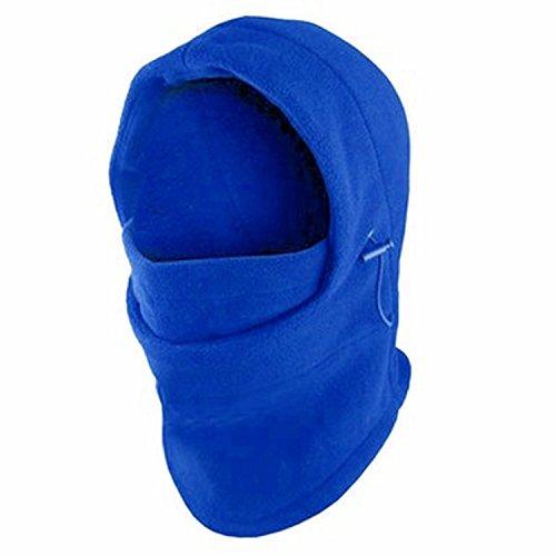 - Fleece Windproof Ski Face Mask Balaclavas Hood by Super Z Outlet (Blue),One Size