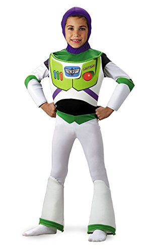 [Buzz Lightyear Deluxe - Size: Child S(4-6)] (Disney Dress Up For Boys)