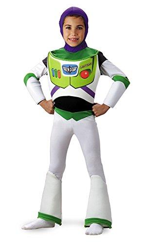 [Buzz Lightyear Deluxe - Size: Child S(4-6)] (Buzz Lightyear Halloween)