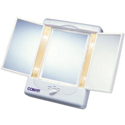 conair 3 panel lighted mirror - 4