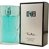 AnGel, Ice Men por Thierry Mugler para hombre, spray para baño de baño, botella de 3.4 onzas