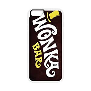 Willy Wonka Golden Ticket Chocolate Bar iPhone 6 Plus 5.5 Inch Cell Phone Case White yyfabd-317170