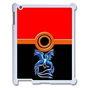 Custom Personalized Hot Cartoon & Anime Series Pokemon PokeBall Cover Hard Plastic Ipad 1/2/3/4 Case