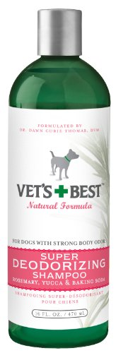 Vet's Best Super Deodorizing Dog Shampoo, 16 Ounces