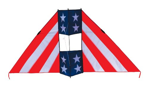 In the Breeze Patriot Conyne Delta Kite, 6-Feet