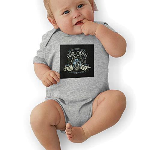 (Olde Odin Pale Ale Baby Short-Sleeve Bodysuit)
