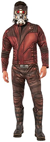 Groot Guardians Of The Galaxy Costume - Rubie's Men's Guardians of the Galaxy Volume 2 Star-Lord Costume, Deluxe, Standard