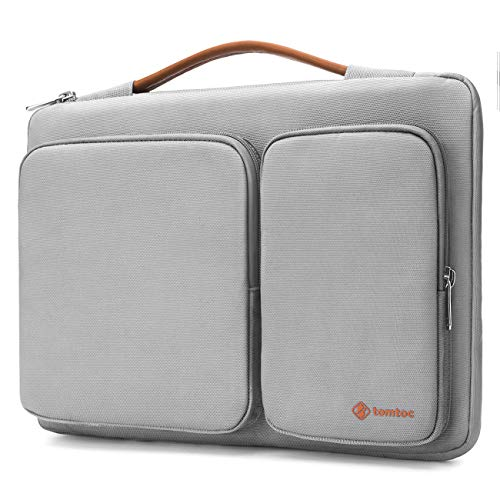 tomtoc 360° Protective Laptop Sleeve Compatible with 13-13.3 Inch Old MacBook Air | MacBook Pro Retina 2012-2015 | 13.5