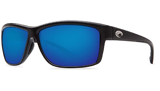 Amazon.com: Costa del Mar Mag Bay 580 g negro brillante/Azul ...