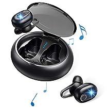 【Bluetooth 5.0進化版】Bluetooth イヤホン Hi-Fi 高音質 完全 ワ...