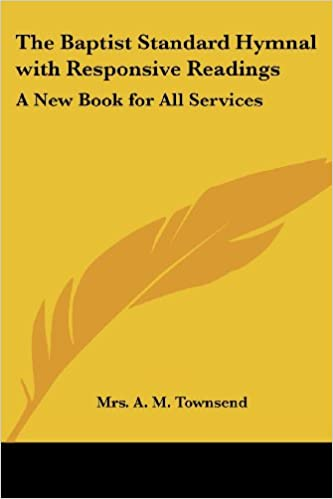 Amazon com: The Baptist Standard Hymnal with Responsive
