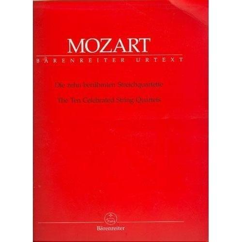 en Celebrated String Quartets - Two Violins, Viola, and Cello Ludwig Finscher (Cello Quartet Music)