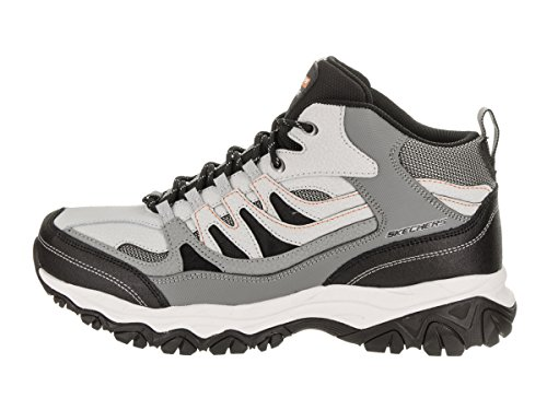 Skechers Sport Mens Afterburn M. Fit Mid-High Sneaker Grey-charcoal
