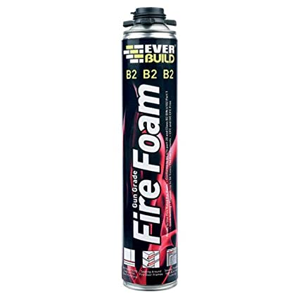 EVERBUILD - avanzada B2FIREGUN - espuma expansiva de poliuretano, pistola grado, fuego, B2