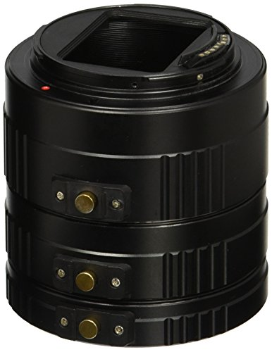Fotodiox Pro Auto Macro Extension Tube Kit for Canon EOS EF / EF-s Lenses for Extreme Close-up