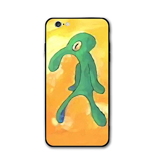 Bold Art - Old Bold and Brash squidward art for iPhone 6/6s Black case