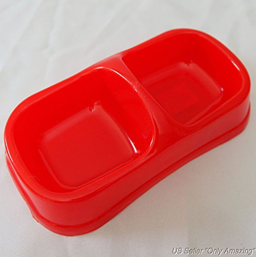Water and Food Feeder For Dog and Cat (Red) - 5