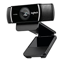 Logitech C922x Pro Stream Webcam 1080P Camera for HD Video Streaming (960-001176)