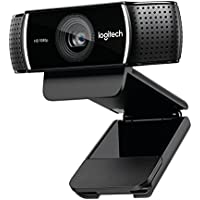 Logitech C922x Pro Stream Webcam 1080P Camera for HD Video Streaming & Recording at 60Fps