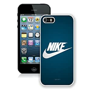 Nike Just do it White Case Cover for iPhone 5 5S Grace and Cool Design