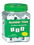 Paper Magic 867430 Eureka Tub Of Number Tiles, 175 Tiles in 3 3/4-Inch x 5 1/2-Inch x 3 3/4-Inch Tub