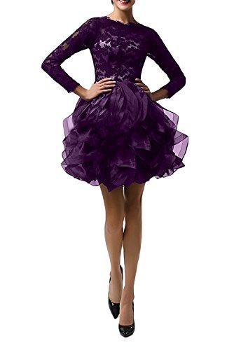Ivydressing Damen Asymmetrisch Abendkleider Partykleid ...