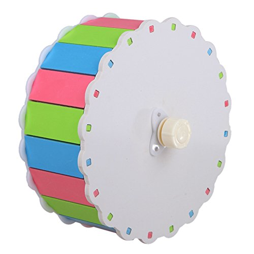 MMdex Colorful Pet  Exercise Running Wheel Toy with 7.5'' Diam for Hamster Mouse Rat Mice by MMdex (Image #5)