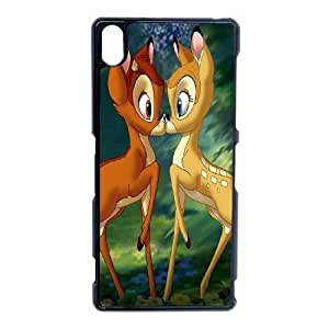 Bambi-008 For Sony Xperia Z3 Cell Phone Case Black Protective Cover xin2jy-4328245