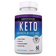 Shark Tank Keto Diet Pills - Ketogenic Carb Blocker for Women & Men - Burn Fat Fast - Advanced Formula Developed to Reach Ketosis Rapidly - Weight Loss Supplement - 60 Capsules