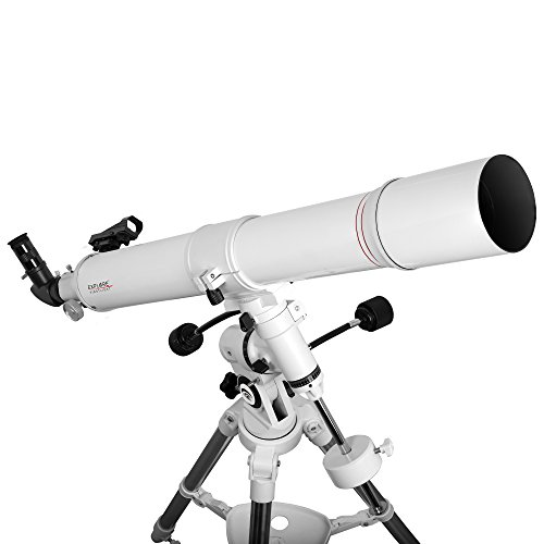 Explore Scientific FL-AR80900EQ3 Refractor Telescope with Exos Nano, 80mm, White by Explore Scientific