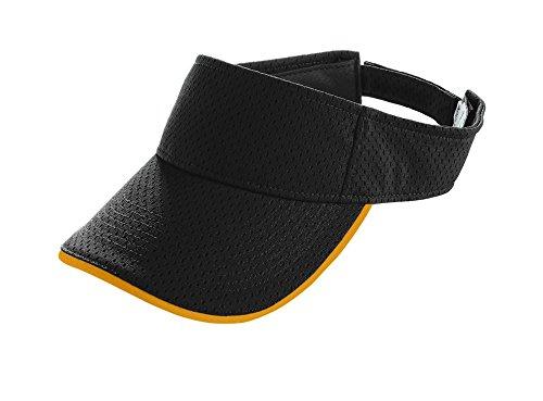 Augusta Sportswear ADULT ATHLETIC MESH TWO-COLOR VISOR OS - Visor Athletic Mesh