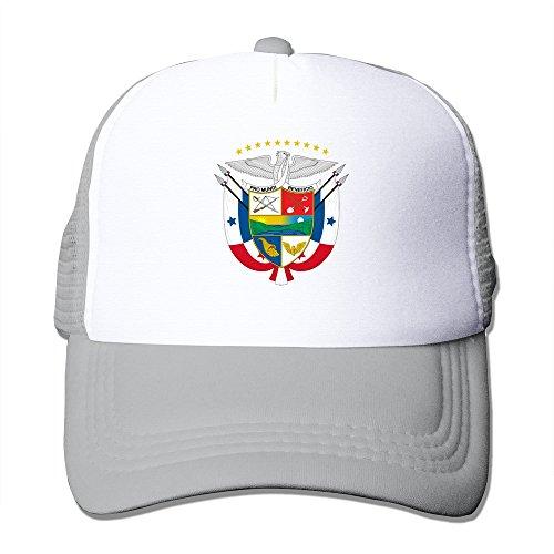 Ersplei Coat of Arms of Panama 100% Nylon Adult Baseball Cap Mesh Hat