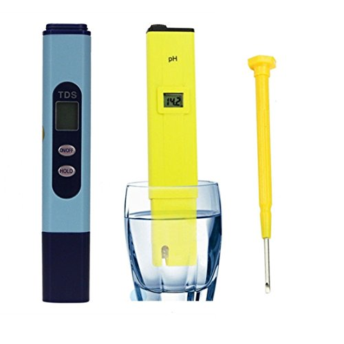 [Great Digital TDS Hydroponic Water Monitor pH Tester Meter Aquarium Pool] (Water Meter Costume)
