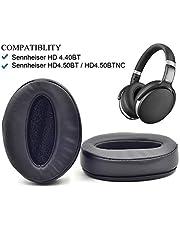 Defean Replacement HD4.50BT, HD4.50BTNC, HD4.40BT Memory Ear Pads Cushion for Sennheiser HD 4.50BT, HD 4.50BTNC, HD 4.40BT Bluetooth Headphones
