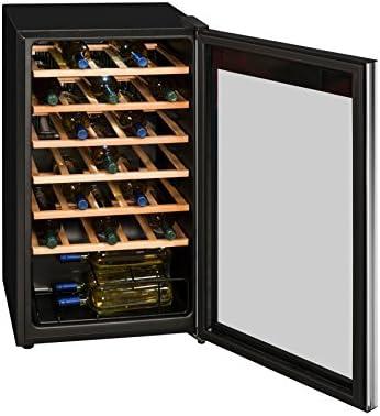 Massiv Frigorífico climática Armario Puerta De Cristal Exquisit eficiencia energética A 93L Negro LED Interior[Clase de eficiencia energética A]