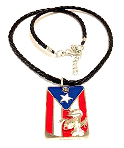 - Puerto Rico Flag Necklace Fashion Boricua Puerto Rican