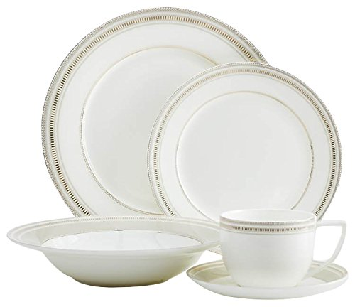 (Safdie & Co. Dinnerset Premium Dinnerware Set, Taupe)
