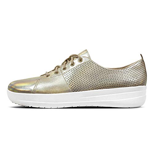 Lace Gold Donna sporty Per Fitflop Scape Sport Up F Perf Tm Ii Outdoor Sneakers 7O1aInq1