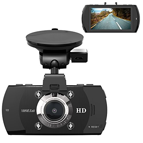 Dash Cam with 32GB Card, Beschoi 1080P Full HD Driving Video Recorder Car Dashboard Camera, 170° Wide Angle View, Built-in G-Sensor, Night Vision, Parking Monitor, Motion Detection, Loop Recording