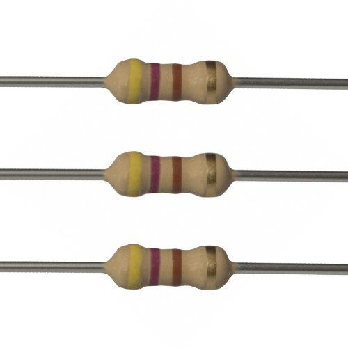 10 pcs Resistors 1w 4,7 kohm 4700 OHM-Article b045