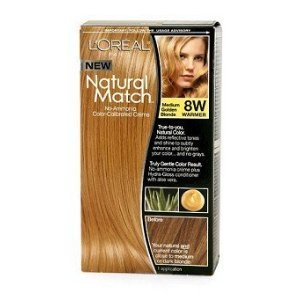 L'Oréal Natural Match Couleur des cheveux, Medium Golden Blonde