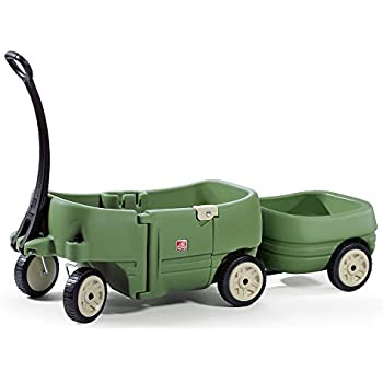 Amazon Step2 Wagon For Two And Tag Along Trailer For Kids