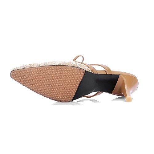 ASL05500 Compensées Kaki Sandales BalaMasa Femme q4RpfxwSw
