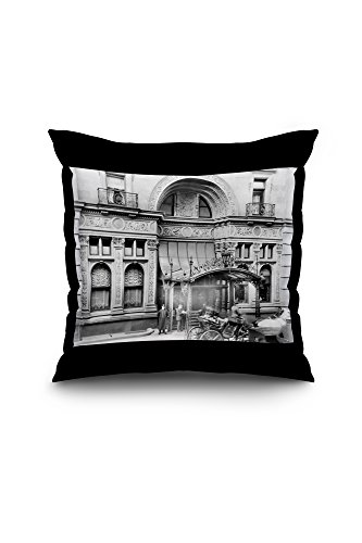 entrance-to-the-waldorf-astoria-hotel-nyc-photo-18x18-spun-polyester-pillow-black-border